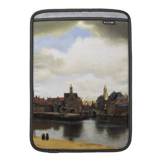 View of Delft by Johannes Vermeer MacBook Sleeve