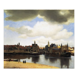 View of Delft by Johannes Vermeer Photo Print