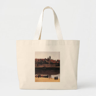View of Delft (detail) Large Tote Bag