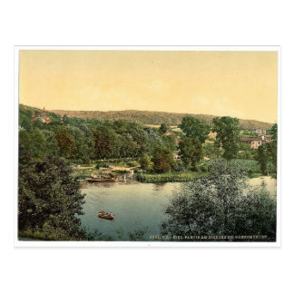 View of Dicksee (i.e., Dieksee) near Gremsmuhlen, Postcard
