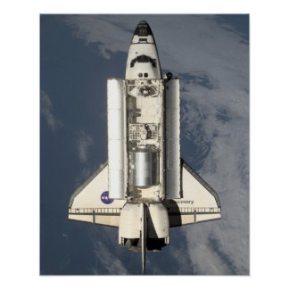 View of Discovery from International Space Station Posters