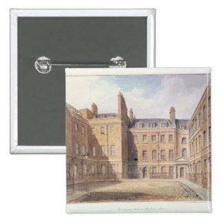 View of Downing Street Westminster Pinback Buttons