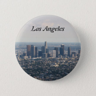 View of Downtown Los Angeles Button