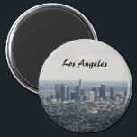 """View of Downtown Los Angeles Magnet<br><div class=""""desc"""">Downtown Los Angeles</div>"""