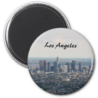 View of Downtown Los Angeles Magnets