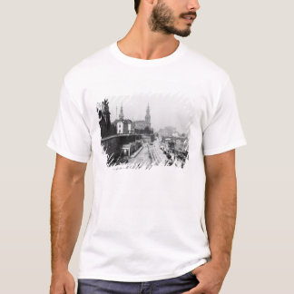View of Dresden from the Bruehlsche Terrasse T-Shirt