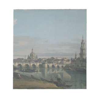 View of Dresden from the Right Bank Notepad