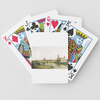 View of Dresden from the Right Bank of the Elbe Bicycle Playing Cards