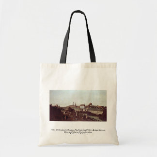 View Of Dresden In Dresden, The Forts Moat Tote Bag