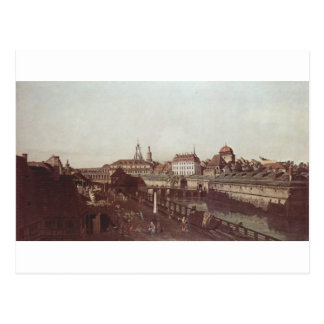 View of Dresden, the Dresden fortifications Postcard