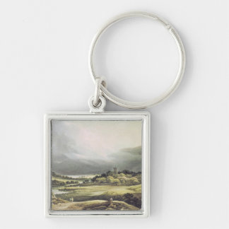 View of Dunloe Castle, Killarney, 1805 Keychain