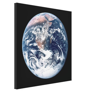View of Earth (Apollo 17) Stretched Canvas Print