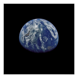 View of Earth from Apollo 15 Print