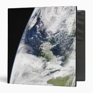View of Earth from space 3 Ring Binder