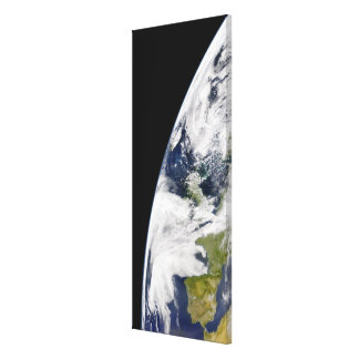 View of Earth from space Canvas Print