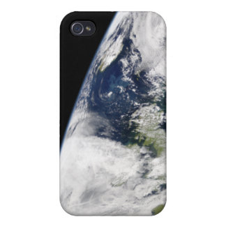 View of Earth from space iPhone 4 Cover