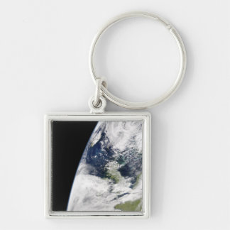 View of Earth from space Keychain