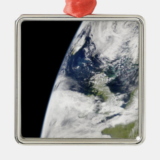 View of Earth from space Metal Ornament