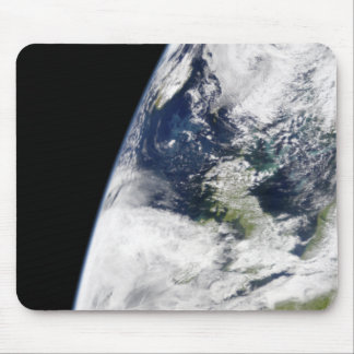 View of Earth from space Mouse Pad