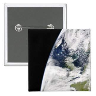 View of Earth from space Pinback Button