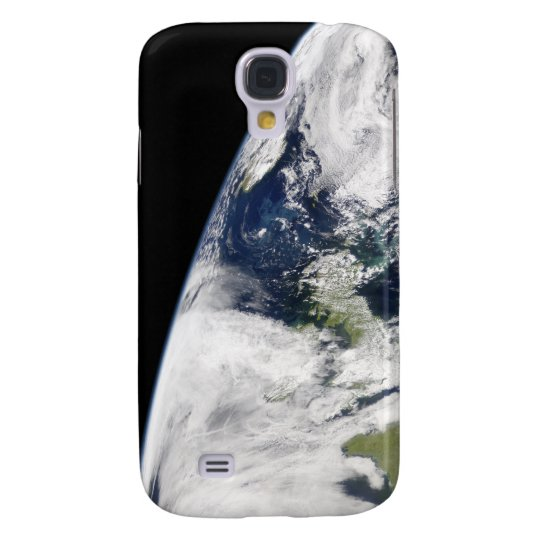 View of Earth from space Samsung Galaxy S4 Case