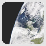 View of Earth from space Square Sticker