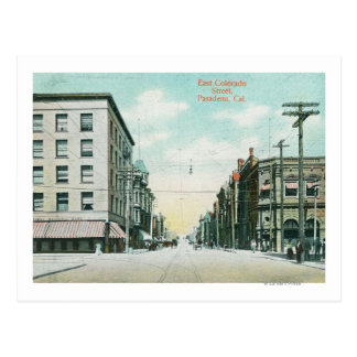 View of East Colorado Street Post Card