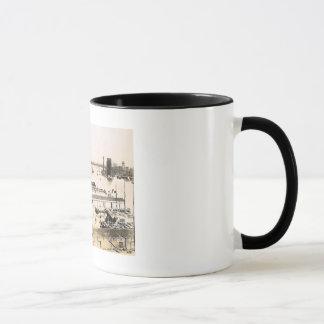 View of East River, New York City 1911 Vintage Mug