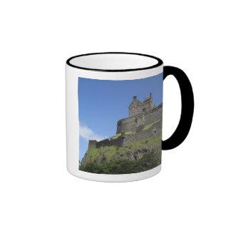 View of Edinburgh Castle, Edinburgh, Scotland, 2 Ringer Coffee Mug