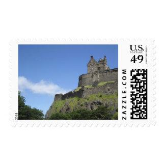View of Edinburgh Castle, Edinburgh, Scotland, 2 Postage