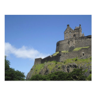 View of Edinburgh Castle, Edinburgh, Scotland, 2 Postcard