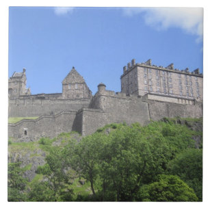 Edinburgh Castle Ceramic Tiles | Zazzle