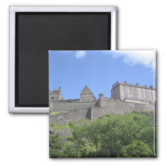 View of Edinburgh Castle, Edinburgh, Scotland, 3 Fridge Magnets