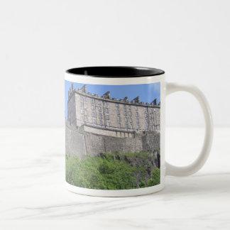 View of Edinburgh Castle, Edinburgh, Scotland, 3 Two-Tone Coffee Mug