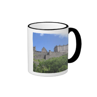 View of Edinburgh Castle, Edinburgh, Scotland, 3 Ringer Coffee Mug