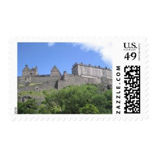 View of Edinburgh Castle, Edinburgh, Scotland, 3 Postage