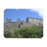 View of Edinburgh Castle, Edinburgh, Scotland, 3 Vinyl Magnets
