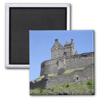View of Edinburgh Castle, Edinburgh, Scotland, Refrigerator Magnet