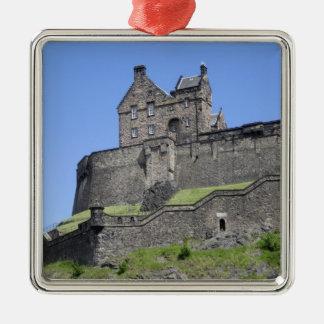View of Edinburgh Castle, Edinburgh, Scotland, Christmas Tree Ornament