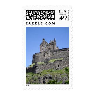 View of Edinburgh Castle, Edinburgh, Scotland, Postage