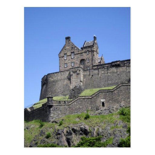 View of Edinburgh Castle, Edinburgh, Scotland, Postcard