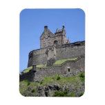 View of Edinburgh Castle, Edinburgh, Scotland, Vinyl Magnets
