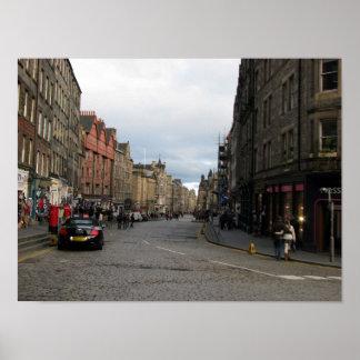 View of Edinburgh Print