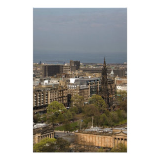 View of Edinburgh Personalized Stationery