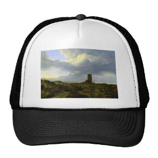 View of egmond by Jacob Ruisdael Trucker Hat