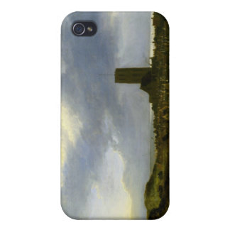 View of egmond by Jacob Ruisdael iPhone 4 Case