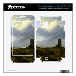 View of egmond by Jacob Ruisdael Samsung Mesmerize Decal