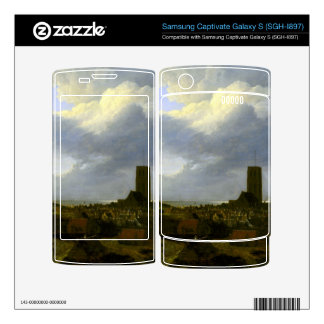 View of egmond by Jacob Ruisdael Samsung Captivate Decals