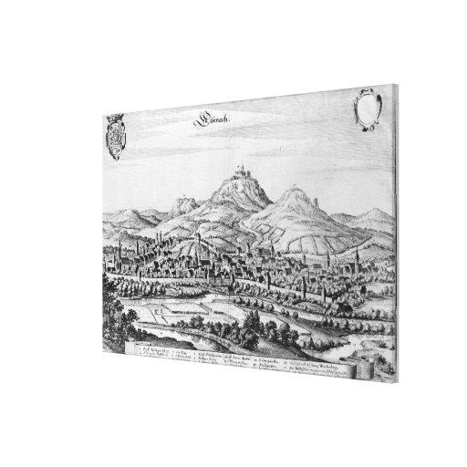 View of Eisenach Canvas Prints