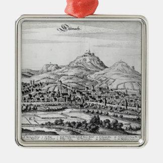View of Eisenach Metal Ornament